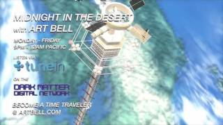 Art Bell discusses a Space Elevator with Dr William Forstchen on Midnight In The Desert