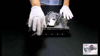 Cách chế tạo một chiếc xe tăng CNC tỉ lệ 1/10 quá công phu