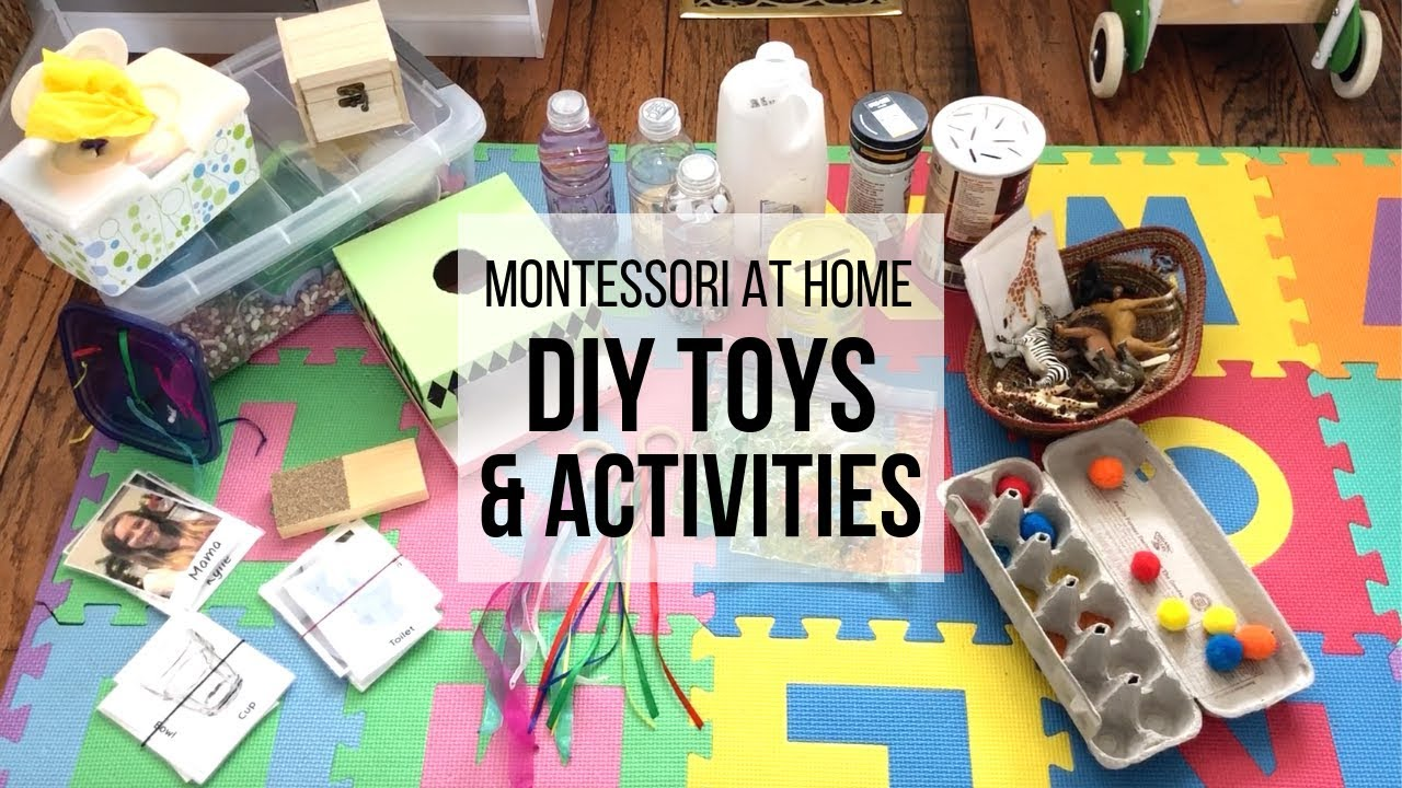 Montessori At Home Diy Montessori Toys For Babies