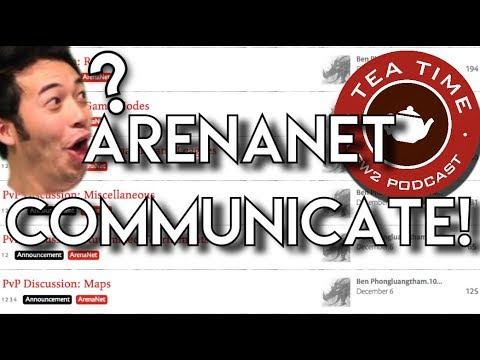 TeaTime: Arenanet Talk? With Jebro, Boots and Roy!
