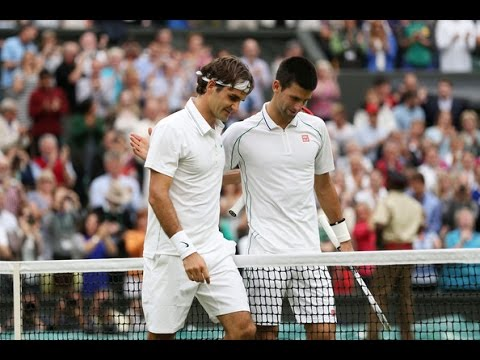 Roger Federer VS Novak Djokovic Highlight (Wimbledon) 2012 SF