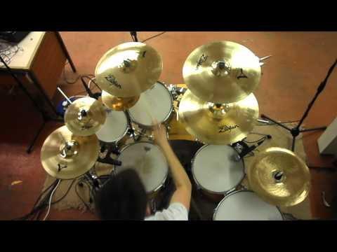 Hoobastank - Out Of Control Drum Cover The Drummist