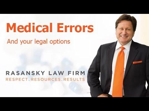Hospital Errors, Mistakes & Medical Malpractice - Legal Information