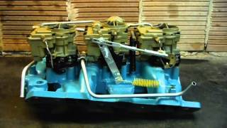 1965 Pontiac GTO Tri-power Rebuild and Restoration Video