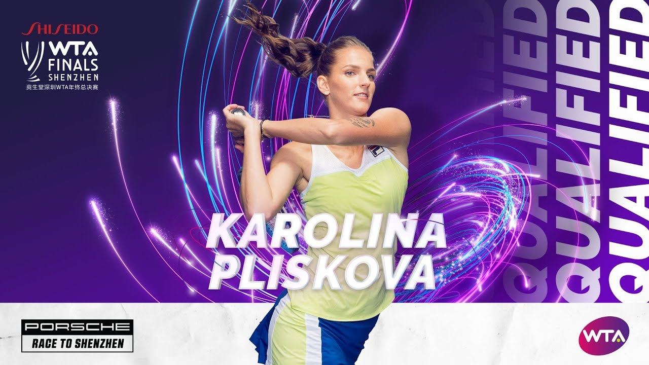 Karolina Pliskova qualifies for the WTA Finals