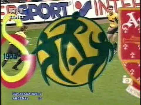 Galatasaray - Arsenal 2000 UEFA Kupası finali geniş özet