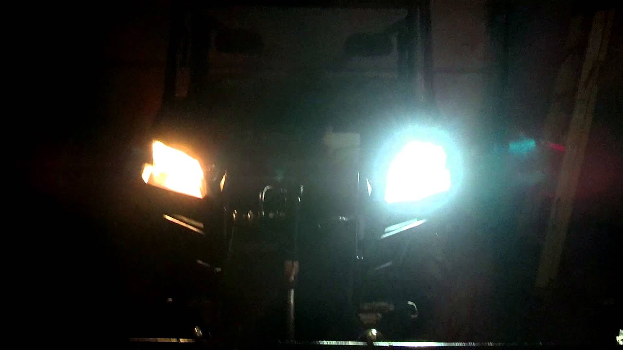 Polaris Ranger Eagle Eyes Hid Kit Youtube