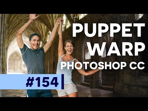 Puppet Warp, What!? - Photoshop CC | Educational
