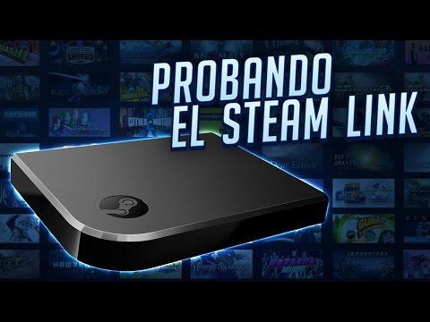 Probando el Steam Link via Wi-Fi Con Duxativa