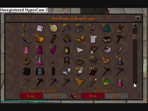 RuneScape shit bank @Read Description@