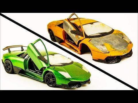 Repair Abandoned Toy Car #5 | Lamborghini Murcielago