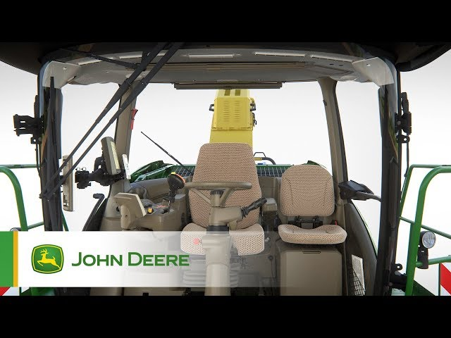 John Deere - Série 8000 - Cabine haut de gamme