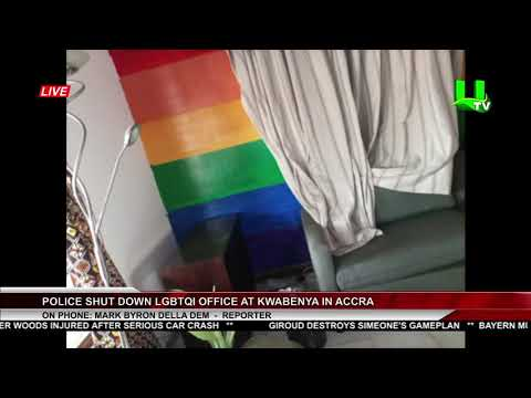 Police Shut Down LGBTQI Office At Kwabenya In Accra