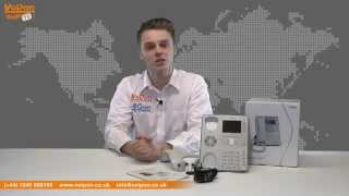 snom 821 VoIP Phone Video Review / Unboxing