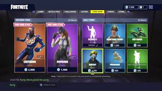 OBLIVION AND DETECTIVE SKINS! | DAILY ITEM SHOP TODAY! | FORTNITE BATTLE ROYALE (12/9/2018)