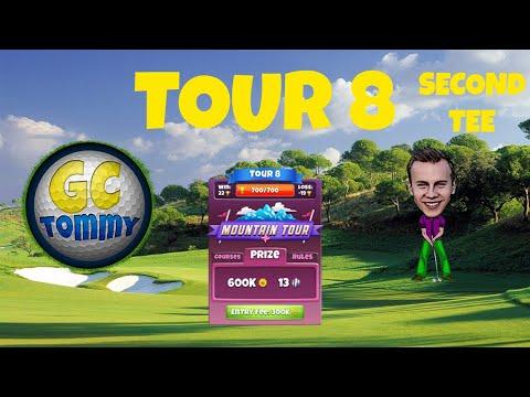 Golf Clash tips, Hole 7 - Par 3, Eagle Peak - Mountain Tour, Tour 8 - GUIDE/TUTORIAL