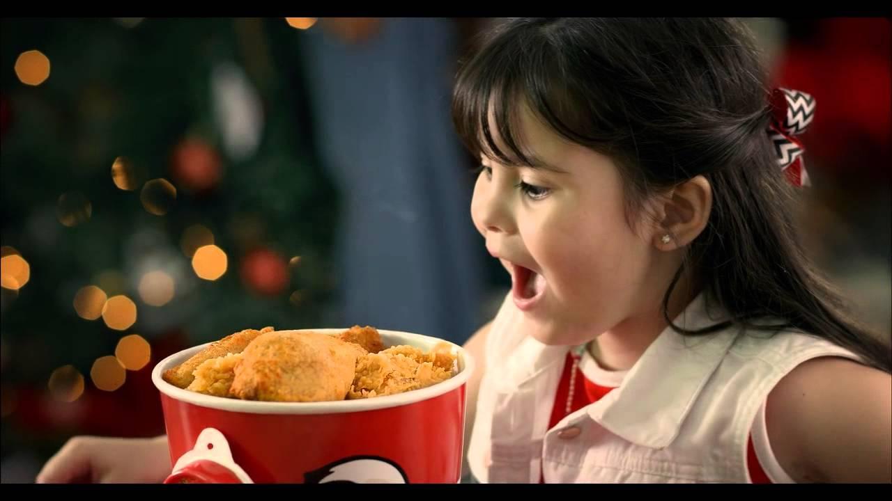 Kfc christmas commercial gifts for kids - Christmas card 2018