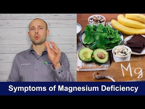 SYMPTOMS OF MAGNESIUM DEFICIENCY   Health Benefits