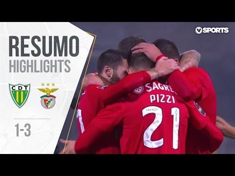 Highlights | Resumo: Tondela 1-3 Benfica (Liga 18/19 #10)