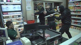 DNEVNJAK - Pljačka supermarketa