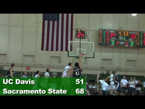 UC Davis at Sac State 12-3-08 Mens Basketball