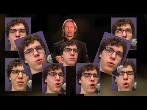 Thumbnail: All Star but it's a Bach chorale but it's a 16 piece choir but all parts are actually sung by me
