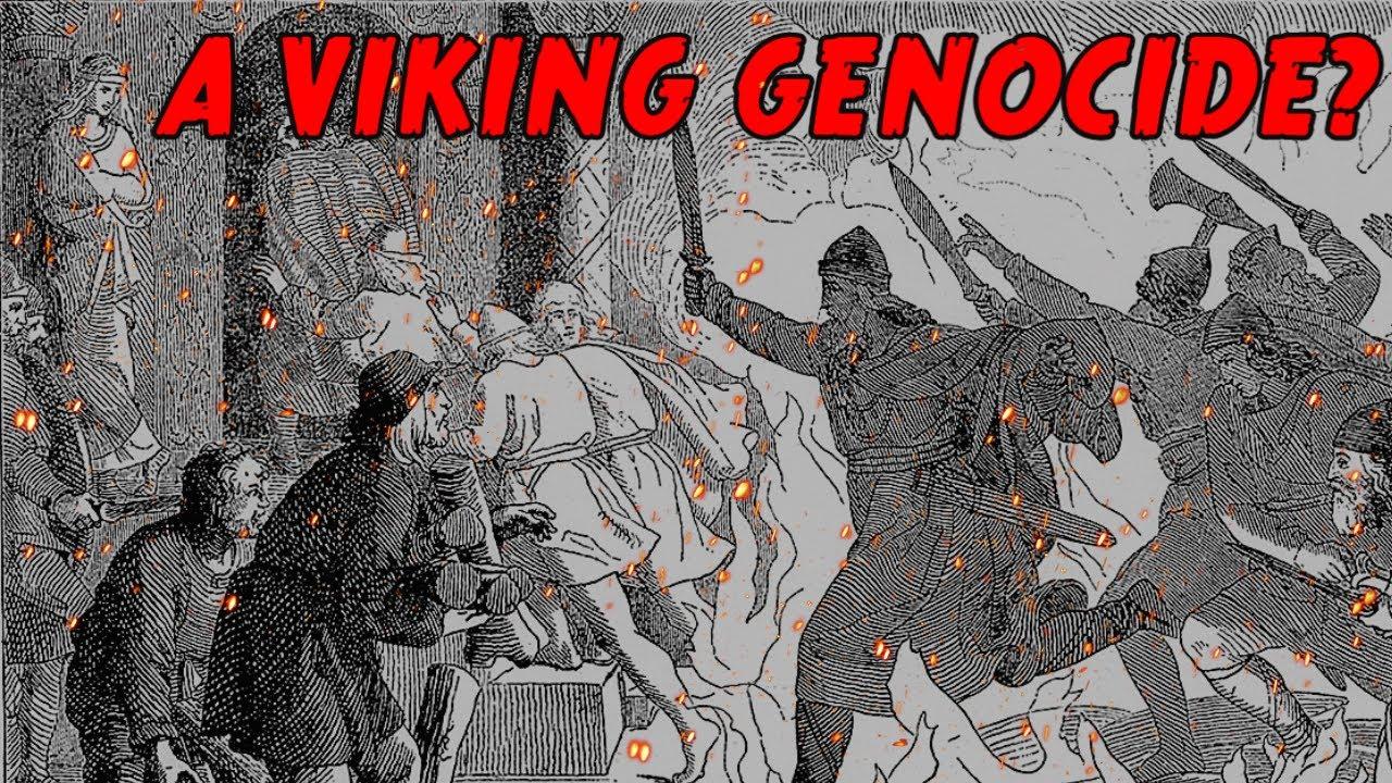 St. Brice's Day Massacre : A Viking Genocide?