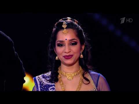 Russia's Got Talent | Raa Raa - Chandramukhi | Telugu song dance by Svetlana Tulasi