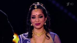Russia's Got Talent | Raa Raa - Chandramukhi | Telugu song dance by Svetlana Tulasi
