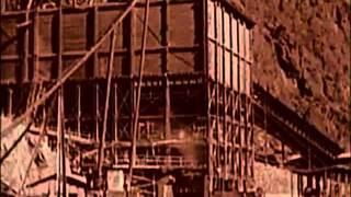 Возведение плотины Гувера(Бетонная арочно-гравитационная плотина высотой 221 м и гидроэлектростанция, сооружённая в нижнем течении..., 2015-03-01T14:56:50.000Z)