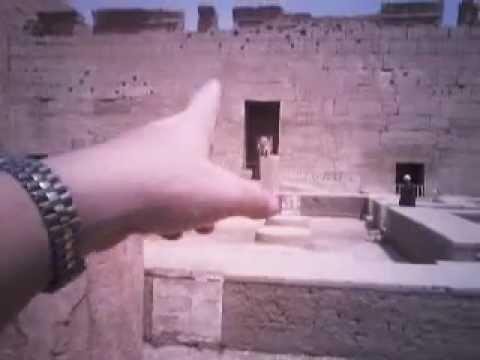 Ancient Egyptian Toilet/Bathroom - YouTube
