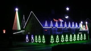 Beldringe julelys 2016 De Nattergale The Støvle Dance