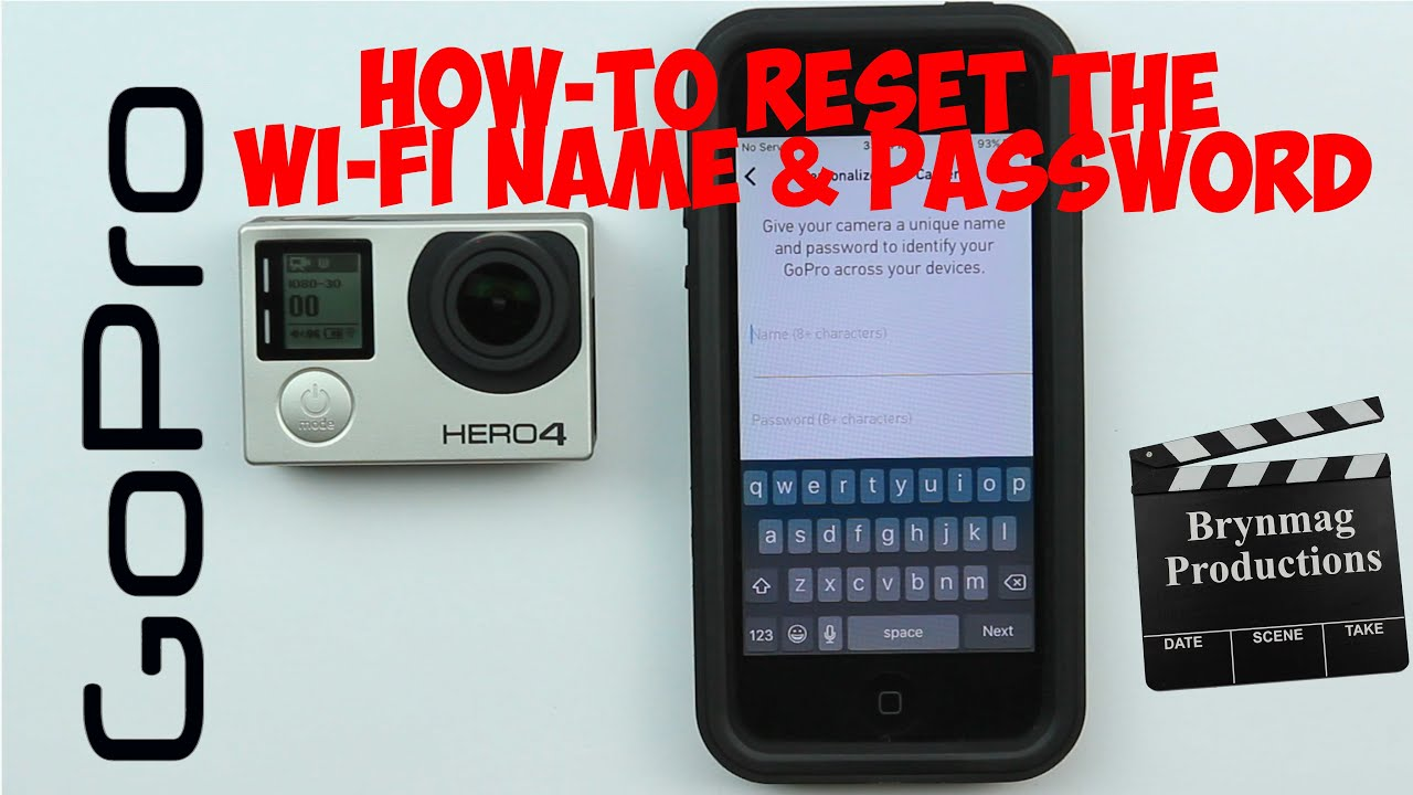 Gopro hero 3 password recovery - How To Reset The Wi Fi Name And Password In The Gopro Hero4