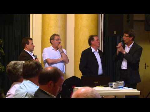 Conférence de presse du Tour d'Auvergne 2014 au casino de Châtel-Guyon