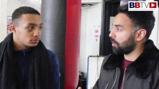 Zelfa Barrett faces his toughest test May 19th Live on BoxNation