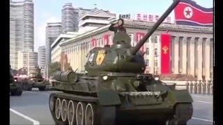 Парад КНДР Северная Корея & Прощание Славянки