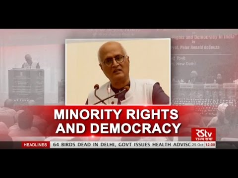 Discourse on minority rights and democracy in India