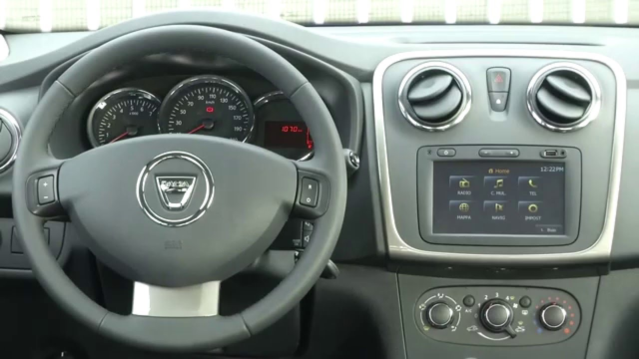 2015 dacia sandero stepway gpl static youtube. Black Bedroom Furniture Sets. Home Design Ideas