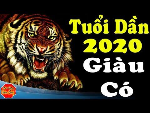 Tuổi Dần 2020 Tài Lộc Thăng Hoa Rực Rỡ, Trúng Số Liên Tiếp Đổi Đời Giàu Nhanh Chóng Mặt, Tử Vi 2020