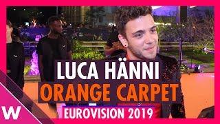 Luca Hänni (Switzerland) @ Eurovision 2019 Red / Orange Carpet Opening Ceremony