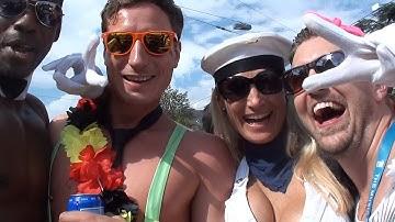 Jason Steel on Streetparade 2014