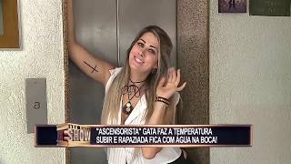 Hot girls frank in left - Redetv new prank - Rede tv vivo