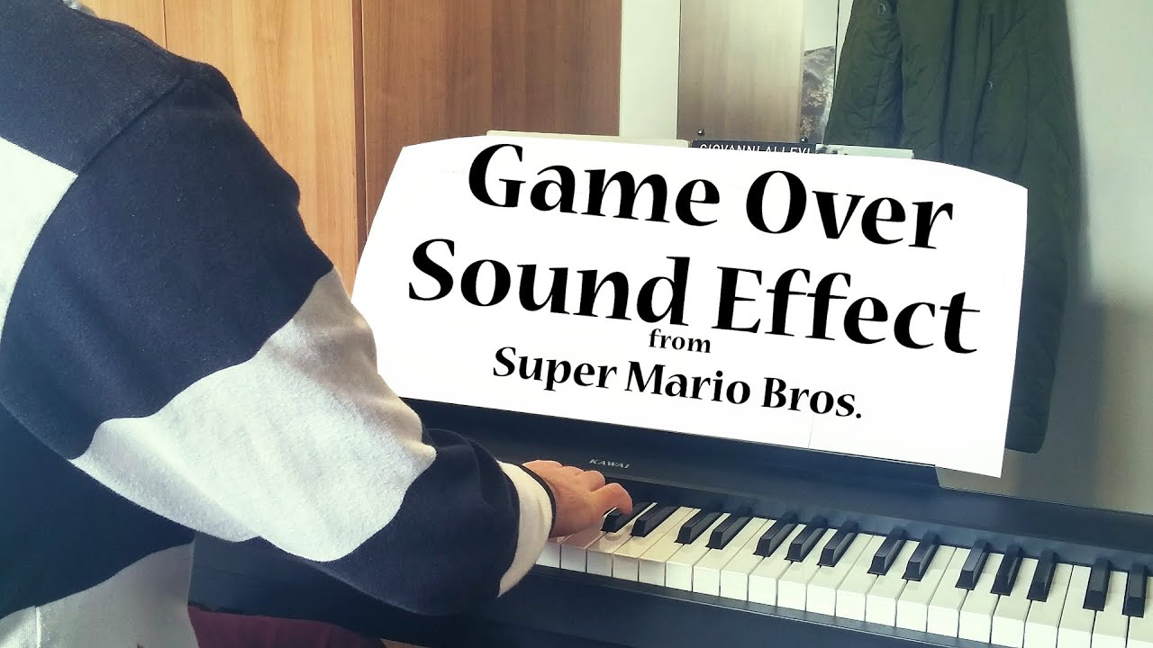 Game Over Sound Effect from Super Mario Bros