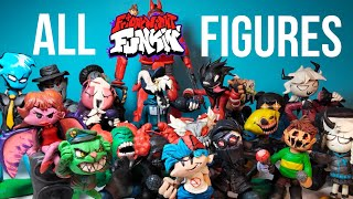ALL MY FNF F GURES COLLECT ON Made With Clay FridayNightFunkin