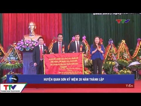 Huyện Quan Sơn kỷ niệm 20 thành lập