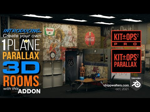Introducing PARALLAX Rooms in Blender!