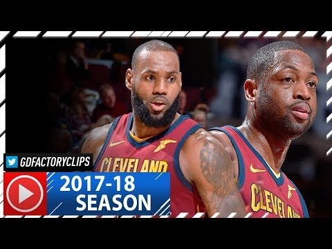 LeBron James 33 Pts & Dwyane Wade 18 Full Highlights vs Nets (2017.11.22) - 4 Qtr Takeover!