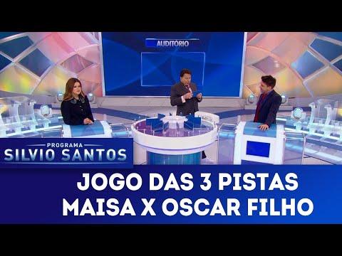Jogo das 3 Pistas - Maisa x Oscar Filho | Programa Silvio Santos (14/04/19)
