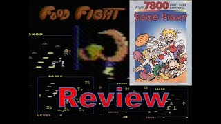 Food Fight (Atari 7800) Review