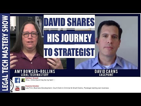 Law School to IT to Litigation Support to Chief Strategy Officer S01E05
